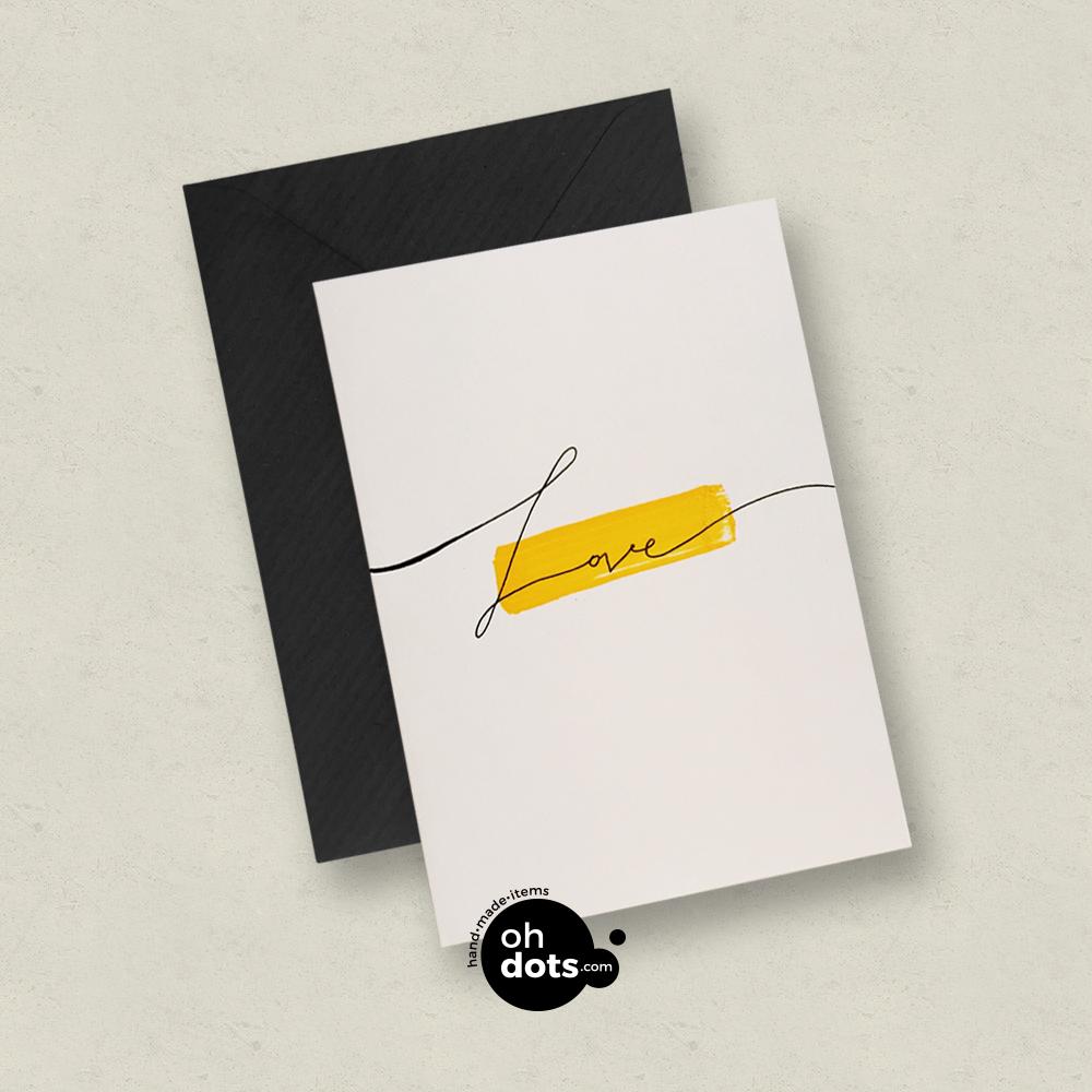 Card Love Oh Dots