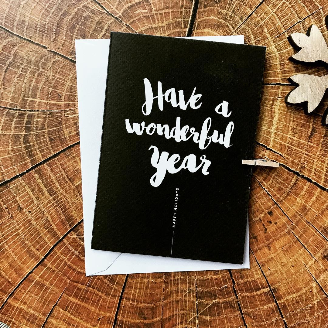 Wonderful year / Print